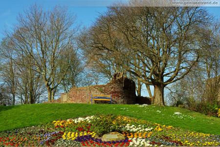 Wilhelmshaven: Banter Ruine an der Jadeallee (Grodendamm)