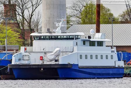 Wilhelmshaven: Offshore-Hotelschiff Sea Comfort am Jade-Dienst-Kai