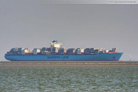 Wilhelmshaven JadeWeserPort: Containerschiff Edith Maersk