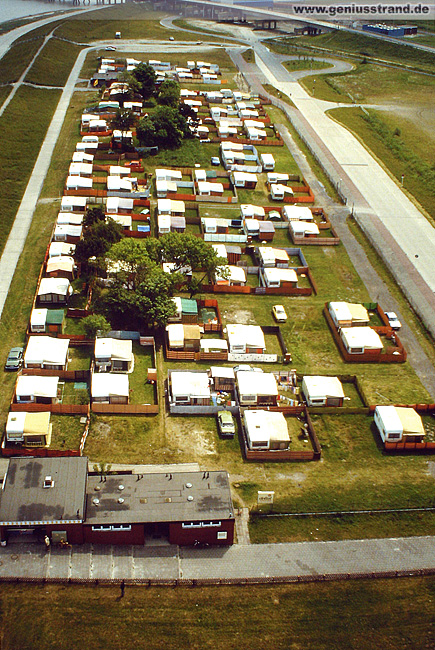 Campingplatz direkt am Geniusstrand