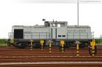 Zwei Containerzüge verlassen den Container Terminal Wilhelmshaven (CTW)