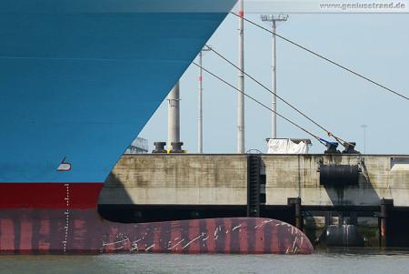 Container Terminal Wilhelmshaven (CTW): Containerschiff Elly Maersk