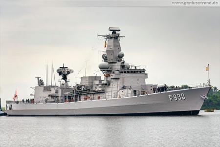 Wilhelmshaven Schiffe: Fregatte BNS Leopold I (F 930)