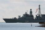 Fregatte NIEDERSACHSEN (F 208) auf dem Weg zum NATO-Einsatz SNMG 2