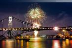 Wilhelmshaven: Feuerwerk Wochenende an der Jade (WadJ) 2014