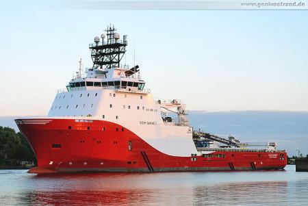 Wilhelmshaven: Offshore-Versorger SIEM GARNET im Nordhafen