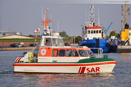 DanGerNed SAREX 2014 in Wilhelmshaven: Seenotrettungsboot (SRB) Baltrum