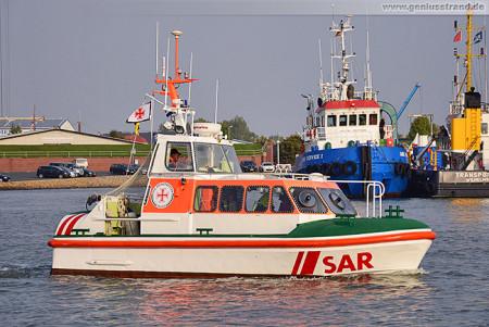 DanGerNed SAREX 2014 in Wilhelmshaven: Seenotrettungsboot (SRB) Baltrum