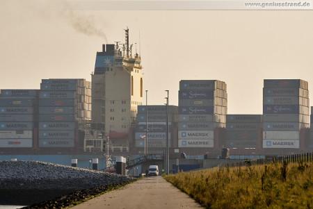 Container Terminal Wilhelmshaven (CTW): SUSAN MAERSK (inbound)