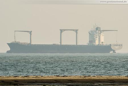 Container Terminal Wilhelmshaven (CTW): Containerschiff CAP BEAUFORT