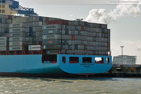 Container Terminal Wilhelmshaven (CTW): Containerschiff MAERSK SALALAH