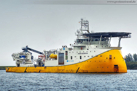 Wilhelmshaven: REEF DESPINA Multifunctional Offshore Service Vessel (MOSV)
