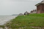 Wilhelmshaven: Sturmtief GONZALO beschert Sturmflut