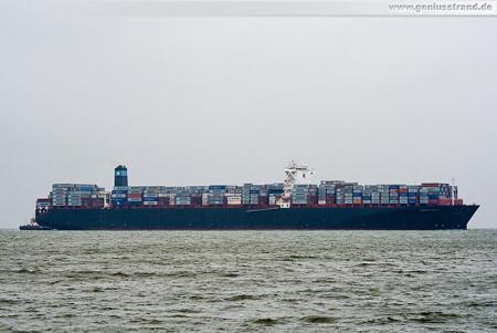Container Terminal Wilhelmshaven (CTW): Containerschiff MAERSK EFFINGHAM