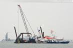 Wilhelmshaven: Unfall am GDF Suez Kühlwasserauslauf
