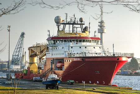 WILHELMSHAVEN: Construction Support Vessel (CSV) POLAR KING