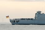 Wilhelmshaven: Fregatte NIEDERSACHSEN (F 208) ist zurück