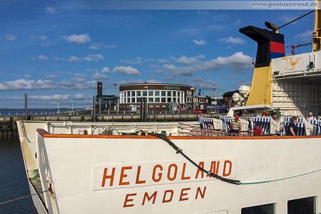 Wilhelmshaven: Helgoland-Linie wird für 2015 eingestellt