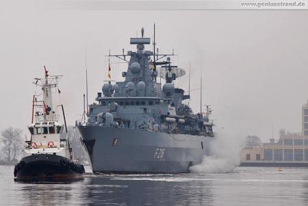WILHELMSHAVEN MARINE: Fregatte SCHLESWIG-HOLSTEIN (F 216) ist zurück