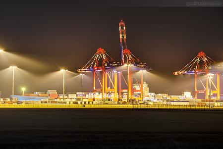Container Terminal Wilhelmshaven (CTW): Containerschiff MAERSK KOTKA