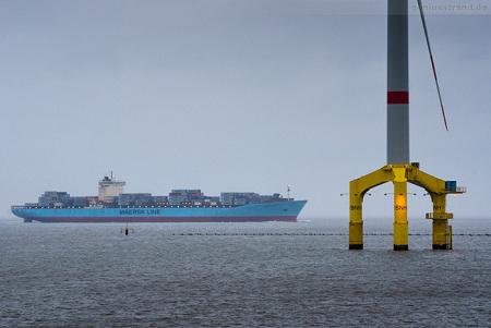 Container Terminal Wilhelmshaven (CTW): Inbound MAERSK KOKURA