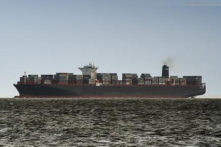 Container Terminal Wilhelmshaven: Containerschiff MAERSK EDISON
