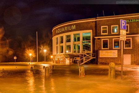 Wilhelmshaven: Sturmtief FELIX bringt Hochwasser