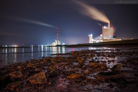 Wilhelmshaven: E.ON Kraftwerk und GDF Suez Kraftwerksneubau