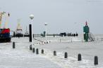 Wilhelmshaven: Orkantief ELON bringt leichtes Hochwasser an die Jade
