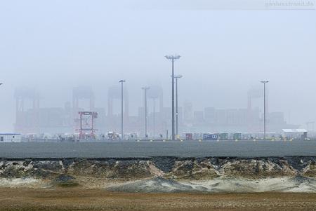 Container Terminal Wilhelmshaven (CTW): Containerschiff MAERSK ESSEX