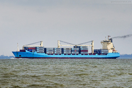 Container Terminal Wilhelmshaven (CTW): Containerschiff BOMAR VICTORY