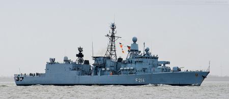 MARINE WILHELMSHAVEN: Fregatte LÜBECK (F 214) zurück vom Anti-Piraterie-Einsatz ATALANTA