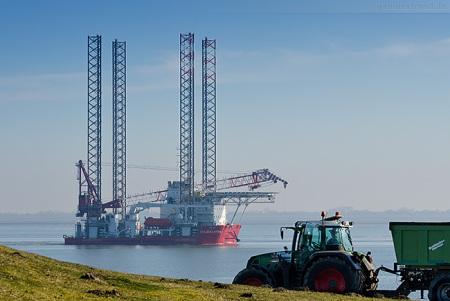 WILHELMSHAVEN: Jackup Vessel SEAJACKS HYDRA inbound