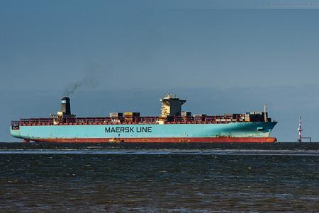 Ankünfte Container Terminal Wilhelmshaven (CTW): MAERSK EDINBURGH