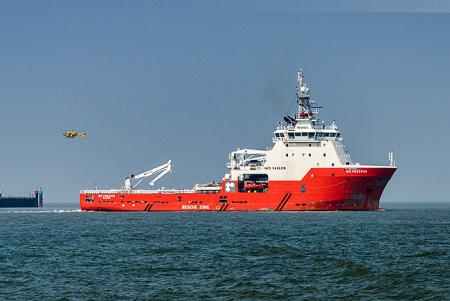 Jade-Weser-Port: Offshore-Versorger GO PEGASUS (AHTS)