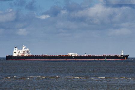 Wilhelmshaven Schiffsankünfte: Tanker FRONT NJORD (inbound NWO)