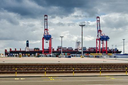 Eurogate Container Terminal Wilhelmshaven (CTW): MAERSK EUBANK