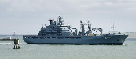 Wilhelmshaven Marine: Einsatzgruppenversorger BERLIN (A 1411) kehrt vom Einsatz- und Ausbildungsverband 2015 zurück
