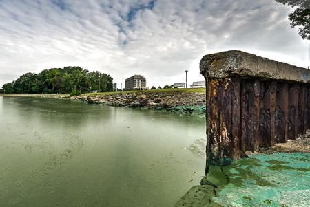 Wilhelmshaven: Banter See Blaualgen 2015 (Badeverbot)