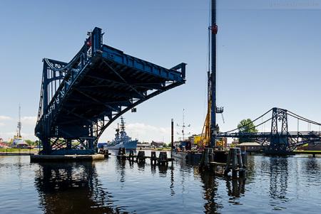 Wilhelmshaven: Sperrung der K.-W.-Brücke weil das Leitwerk erneuert wird