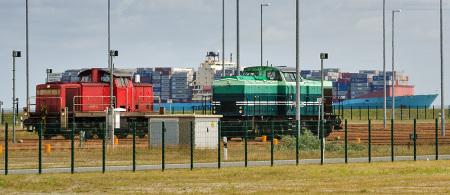 Vorstellgruppe JadeWeserPort/Eurogate Container Terminal Wilhelmshaven, Auszug aus dem Fahrplan (Containerzug)