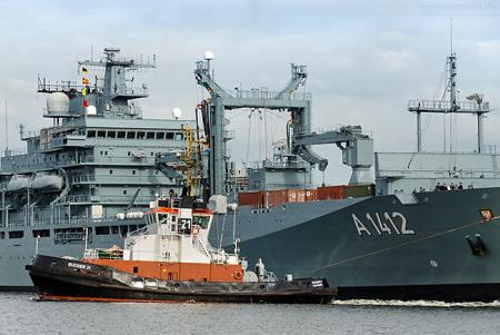 Wilhelmshaven Marine: Frankfurt am Main (A 1412) wieder im Heimathafen