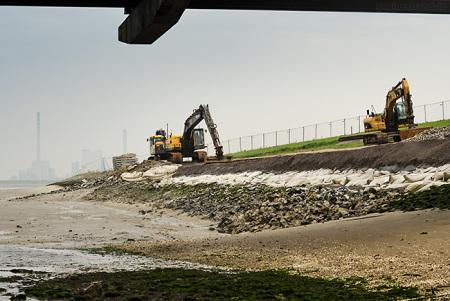 Wilhelmshaven Neuer Voslapper Seedeich: Erneuerung des Deckwerks