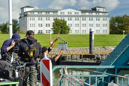 Wilhelmshaven: Dreharbeiten zum ZDF-Thriller LAUTLOSER SCHREI