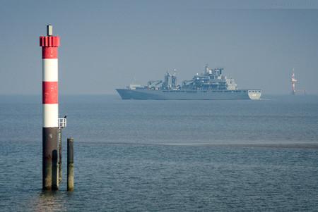 Wilhelmshaven: EGV BERLIN zum EU-Einsatz EUNAVFOR MED ausgelaufen