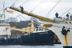 Wilhelmshaven: Segelschulschiff GORCH FOCK am Bontekai (Open Ship)