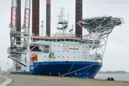 Wilhelmshaven: Offshore-Installationsschiff VIDAR verkauft