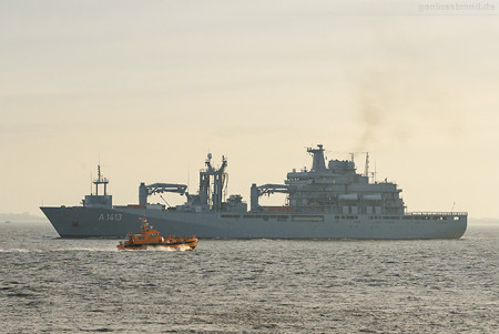 Wilhelmshaven: Erster NATO-Einsatz für den EGV Bonn (A 1413)