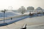 Aktuelle Winterbilder aus Wilhelmshaven (Großer Hafen, Bontekai, Südstrand)