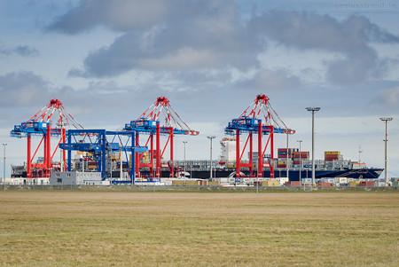 JadeWeserPort Schiffsbilder: Containerschiff MSC KATIE (MSC-Beryl-Typ)